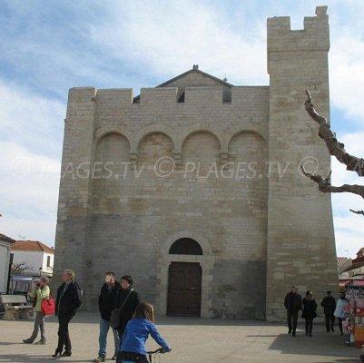 Church of Saintes Maries de la Mer - France