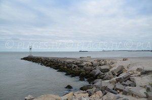 Pointe Grave à Verdon sur Mer - entrée de l'estuaire de la Gironde