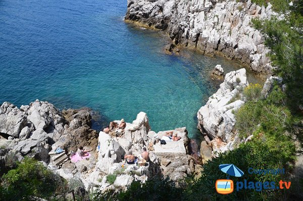 Rocks of Crau de Nao point - Saint Jean Cap-Ferrat