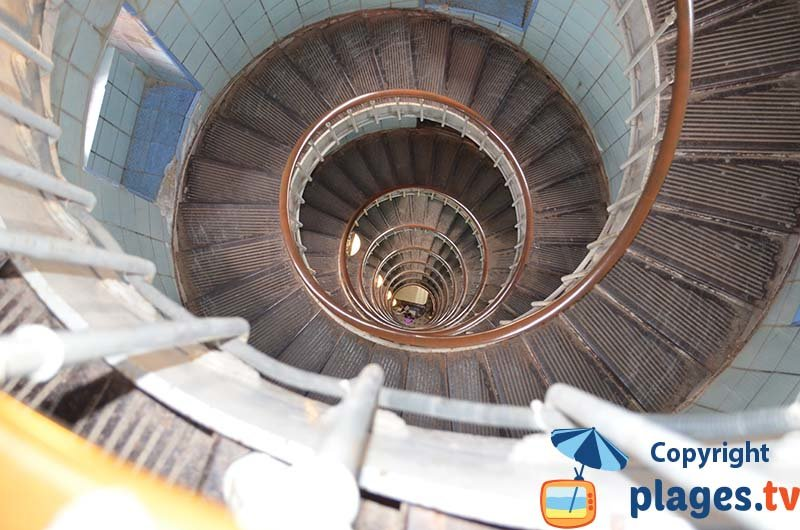 Escaliers du phare de La Coubre