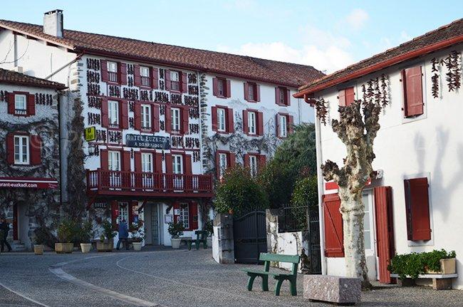 Espelette dans le Pays Basque