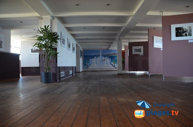 Exhibitions inside the ship Lydia - Port Barcares