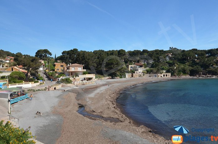 Fabregas in La Seyne sur Mer: beach and restaurants
