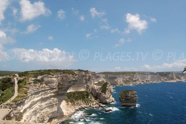 Le falesie di Bonifacio - Corsica