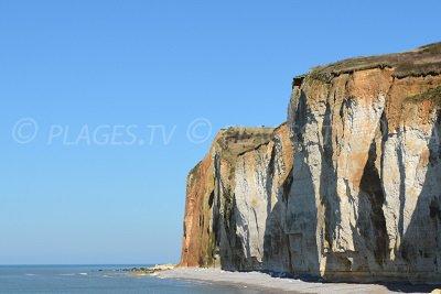 Cliffs of St Pierre en Port in France