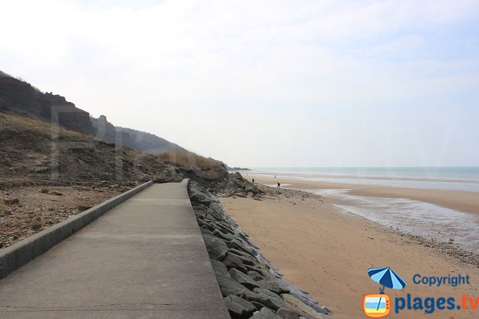 Balade vers les falaises des Vaches Noires en Normandie
