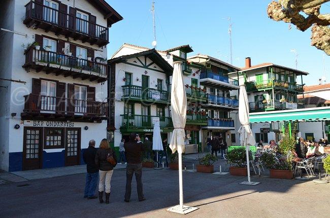Fontarrabie: une ville espagnole à côté d'Hendaye