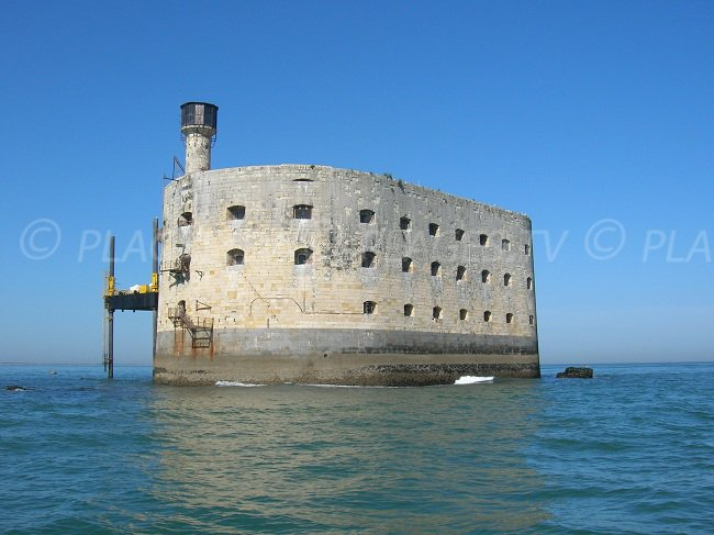 Fort Boyard off Fouras and the island of Aix