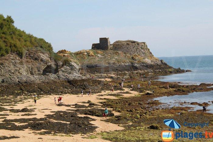 Fort du Gros Rocher à Belle Ile