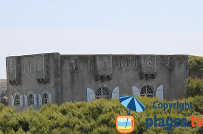 Fort of Sarah Bernhardt in Sauzon - Belle Ile en Mer