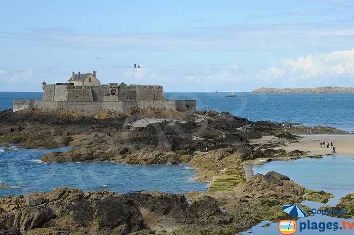 Fort National from Saint Malo