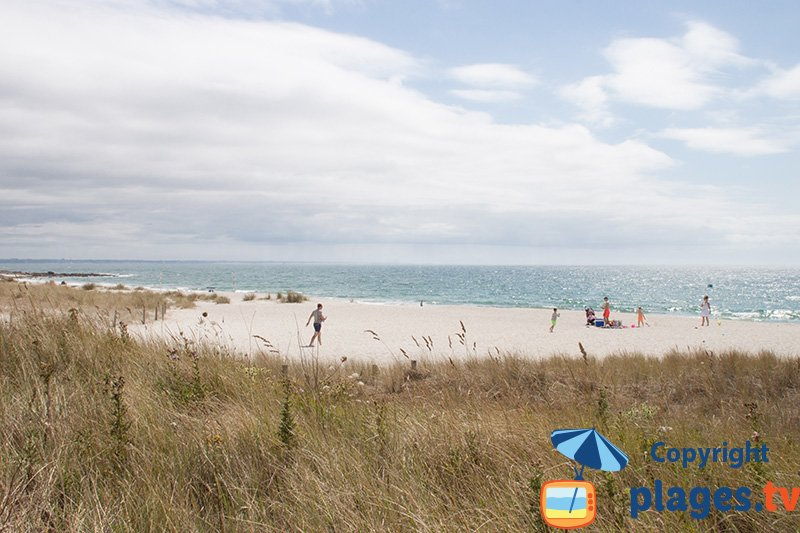 Fouesnant et la plage de Kerambigorn