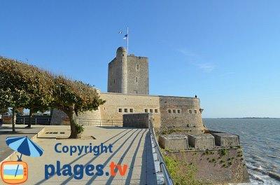 Fouras en Charente-Maritime et son front de mer