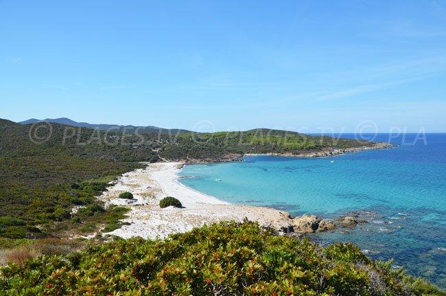 Ghignu: secret beach in Agriates desert