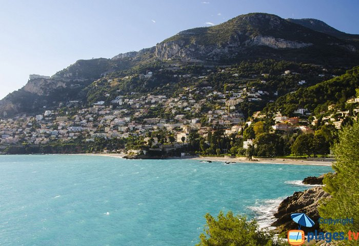 Littoral ouest de Roquebrune Cap Martin
