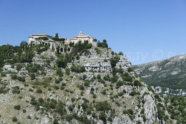 Village perché de Gourdon dans l'arrière pays de Grasse