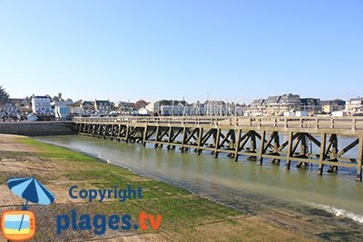 Port of Grandcamp Maisy in Normandy - France