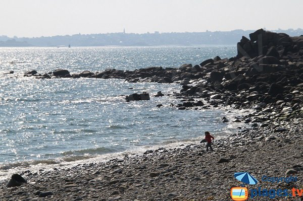 South-east beach in Roscoff