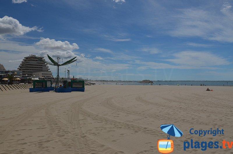 La Grande Motte et sa plage