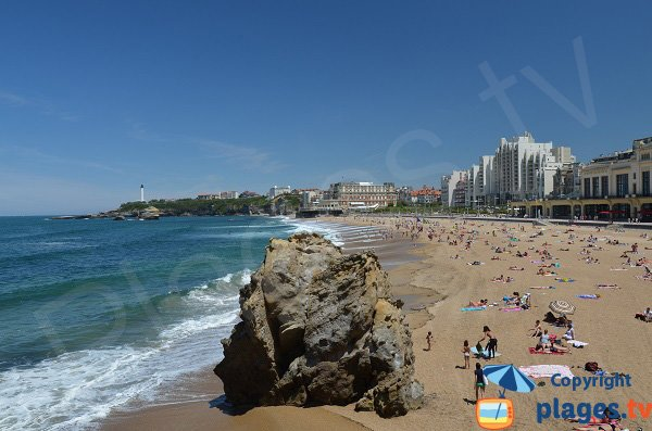 Photo of Grande Beach of Biarritz - France