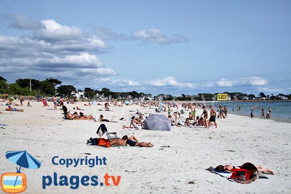 Belle plage à Carnac - Grande-Plage