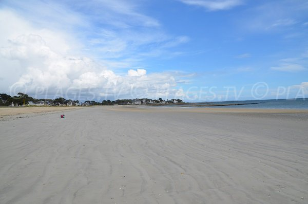 Photo of Grande Plage of Carnac in Brittany