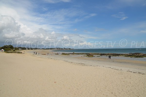 Carnac and its beach - France