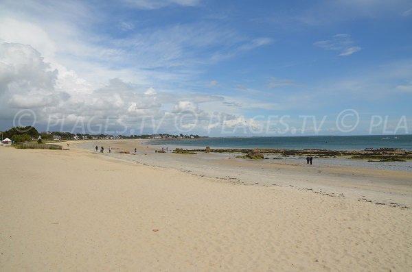 Carnac et sa plage