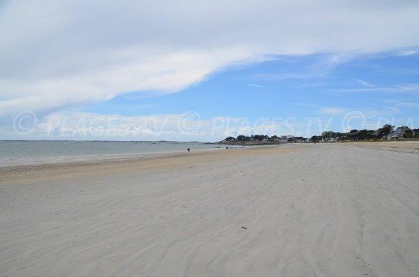 Grande plage of Carnac in France