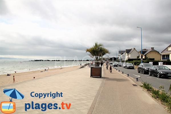 Route et promenade - Grande Plage de Damgan