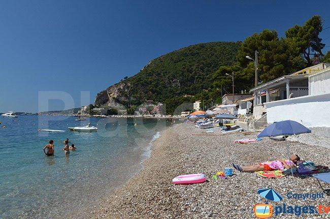 Grande plage d'Eze