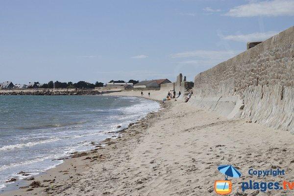 Gavres beach towards Plouhinec