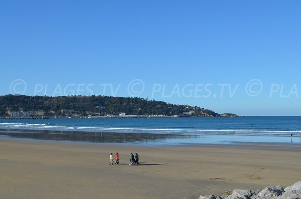 Beach of the Basque Coast - Hendaye - France