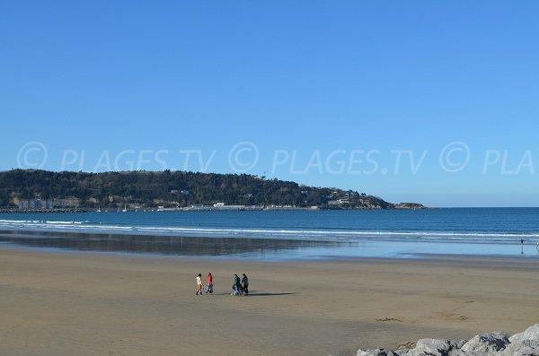 Grande plage de la Côte Basque
