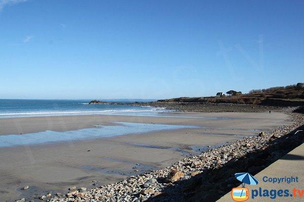 Grande plage de Primel-Trégastel à Plougasnou