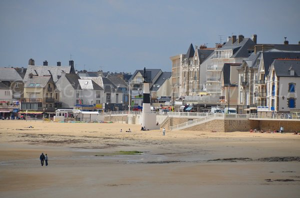 Sand beach in Quiberon in France