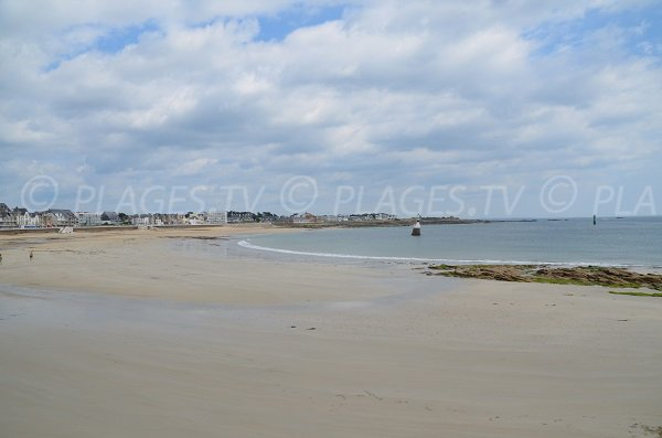 Grande Plage in Quiberon in France