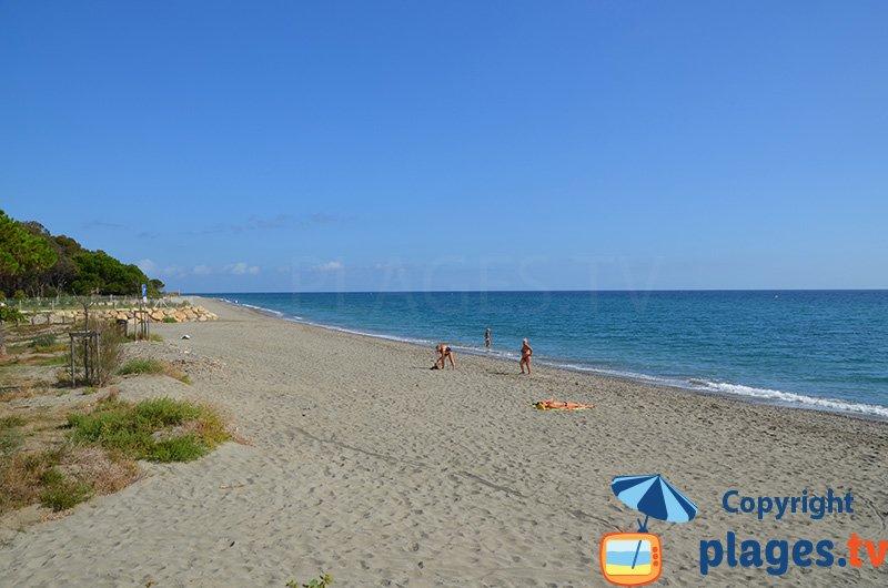 Eastern Corsica coast: Santa Lucia Moriani