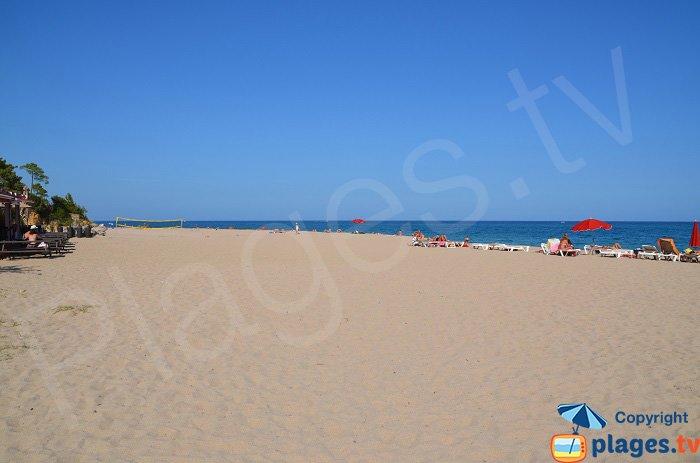 Grande plage de Solenzara