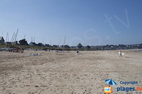 Nautical center in the main beach of Saint Cast le Guildo