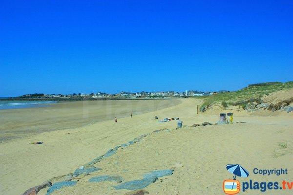 Dunes on St Gilles Croix de Vie beach - France