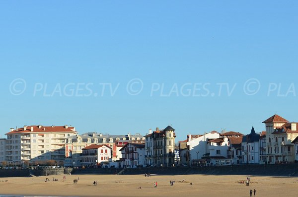 Grande plage of St Jean de Luz  - Central position