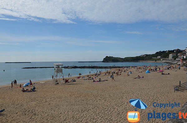 Photo of Grande Plage in Saint Jean de Luz in France