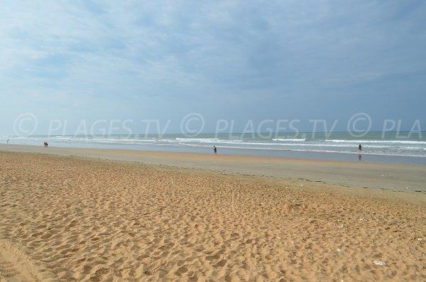 Grande plage de St Trojan les Bains