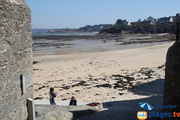 Beach of Grève Blanche in Carantec - Brittany