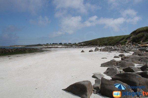Photo of White beach - Batz island