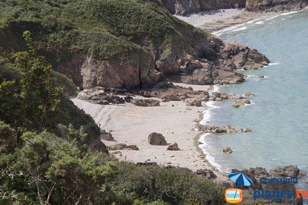Criques entre Gwin Zegal et Porz Moguer - Plouha