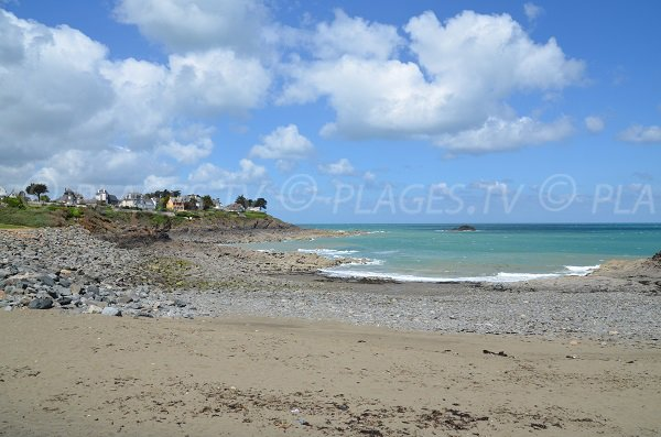 Beach of Isnain - Saint Quay Portrieux - France