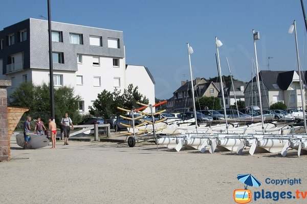 Nautical center in Sables d'Or les Pins