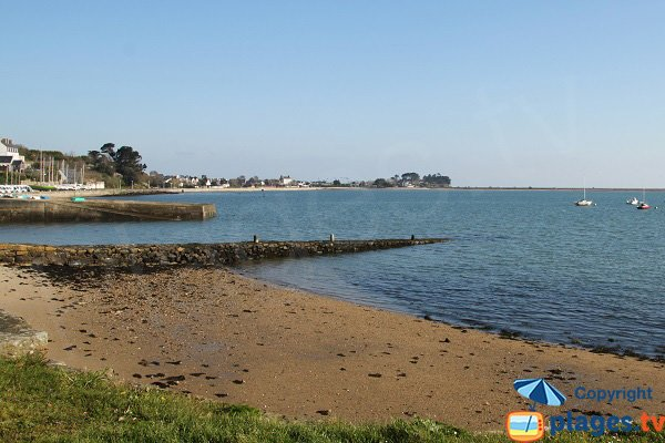 Plage autour du Port de Pempoul à St Pol de Léon